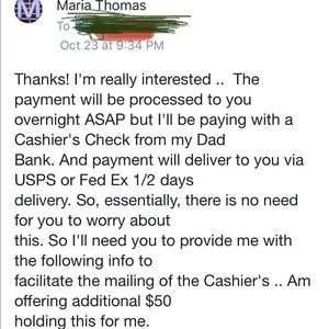 Scammers!!